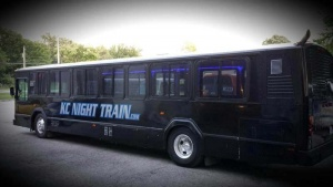 External view of the NT Express Black Party Bus