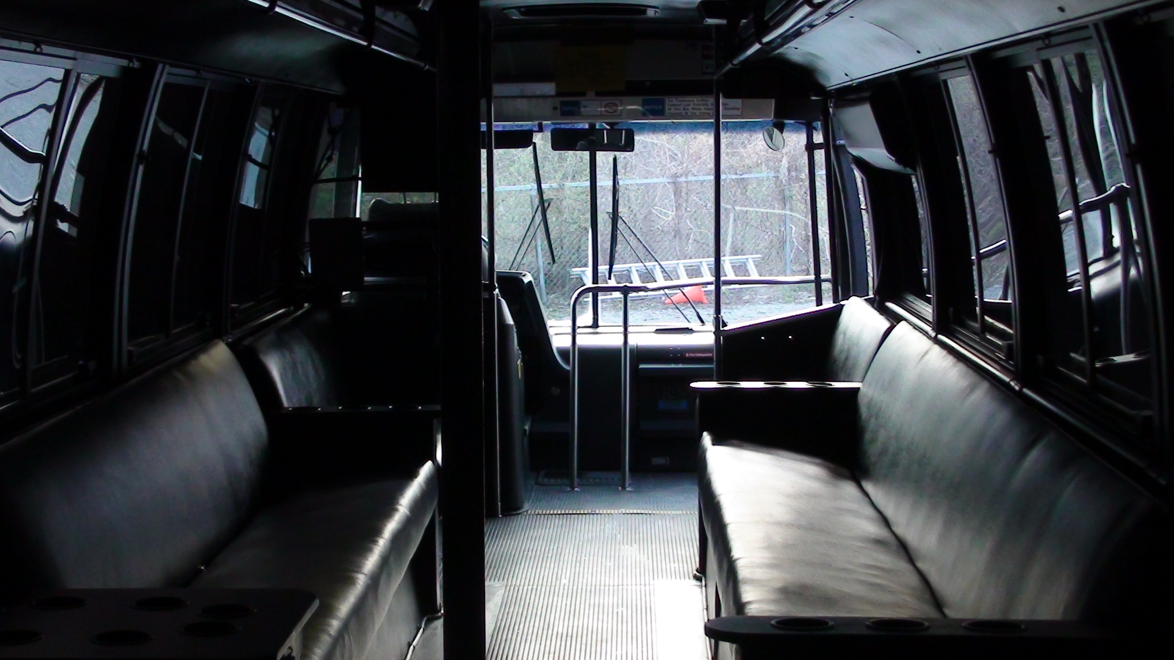 orange party bus interior front kc night train interior design company nyc best home design and