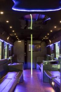 Ambassador Bus (Interior, Rear, View 8)